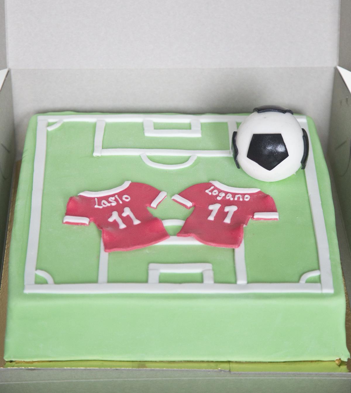 Fussball Torte 1